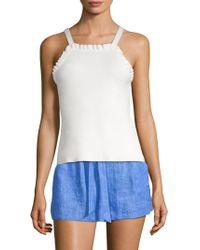 5f3dd0c76f8c38 Lyst - Women s MILLY Sleeveless sweaters On Sale