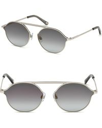 Web - Round Metal Sunglasses - Lyst