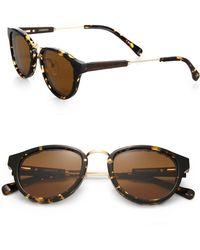 Shwood - Ainsworth Round Sunglasses - Lyst