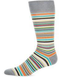 Paul Smith | Multicolor Stripe Mid-calf Socks | Lyst