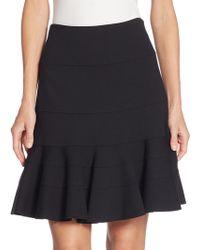 Akris Punto - Elements Jersey Flippy Skirt - Lyst