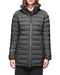 Canada Goose - Brookvale Hooded Coat - Lyst