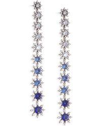Adriana Orsini - Holidayear Linear Earrings - Lyst
