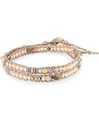 Chan Luu - Pink Mix Wrap Bracelet - Lyst