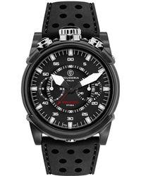 CT Scuderia Coda Corta Stainless Steel Watch - Black