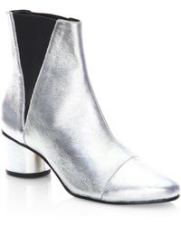 Rebecca Minkoff | Izette Leather Booties | Lyst
