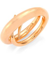 Charlotte Chesnais - Unchained Ring/rose Goldtone - Lyst