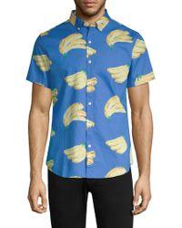 Bonobos - Printed Cotton Slim-fit Button-down Shirt - Lyst
