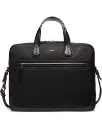 Bally - Textured Zip Briefcase - Lyst