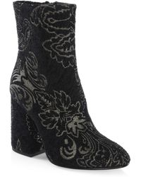 Ash - Fedora Zippered Booties - Lyst