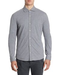 Brunello Cucinelli - Leisure-fit Button-down Shirt - Lyst