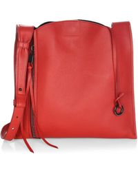 Elena Ghisellini | Estia Small Leather Hobo Bag | Lyst