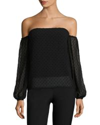 Misha Collection - Isla Off-the-shoulder Top - Lyst