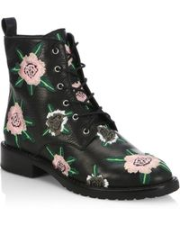 Rebecca Minkoff - Gerry Embroidery Bootie - Lyst