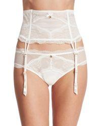 Chantelle | Presage Lace Garter Belt | Lyst