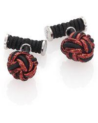 Hook + Albert - Knot Cuff Links - Lyst