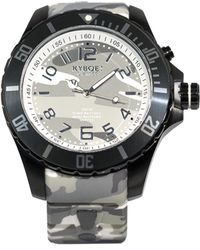 Kyboe - Stainless Steel Camo Dial Watch - Lyst