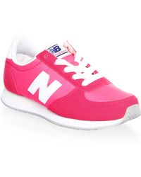 New Balance - Girl's Low-top Trainers - Lyst