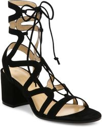 Gianvito Rossi - Knee-high Cutout Gladiator Sandal - Lyst