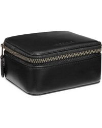 COACH - Small Leather Travel Case - Lyst