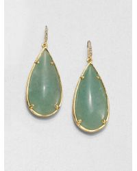 ABS By Allen Schwartz - Teardrop Earrings - Lyst