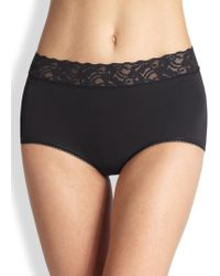 Wacoal | Cotton Suede Full Briefs | Lyst