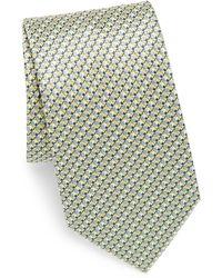 Brioni - Geometric Textured Silk Tie - Lyst