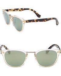 Oliver Peoples | Lerner 50mm Wayfarer Sunglasses | Lyst