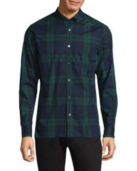 Burberry | Plaid Cotton Button-down Shirt | Lyst