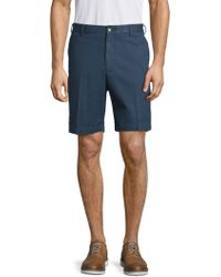 Peter Millar - Soft Touch Twill Flat-front Shorts - Lyst