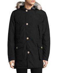 Woolrich - Fur-trimmed Arctic Parka - Lyst