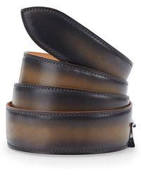 Corthay - Old Black Leather Belt - Lyst