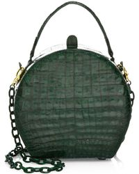 Nancy Gonzalez - Billie Crocodile Box Bag - Lyst