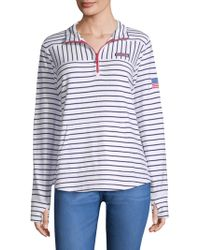 Vineyard Vines - Usa Mixed Stripe Sweater - Lyst