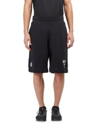 Marcelo Burlon - Jak Cotton Shorts - Lyst