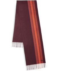 COACH - Varsity Stripe Scarf - Lyst