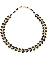 Ippolita - Polished Rock Candy Black Onyx & 18k Yellow Gold Necklace - Lyst