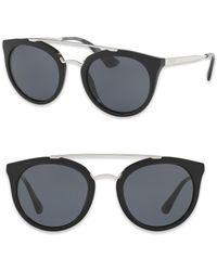 Prada - 52mm Phantos Sunglasses - Lyst