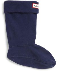 HUNTER - Baby & Kid's Fleece Welly Socks - Lyst