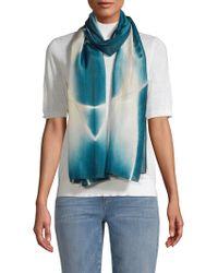 Eileen Fisher - Printed Merino Wool Scarf - Lyst