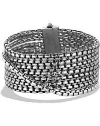 David Yurman - Box Chain Eight-row Bracelet - Lyst