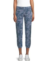 Monrow - Supersoft Camo Joggers - Lyst