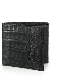 Santiago Gonzalez   Crocodile Billfold Wallet   Lyst