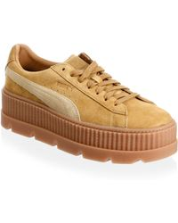 PUMA | Suede Cleated Creeper Low-top Sneakers | Lyst
