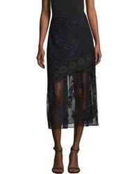 Three Floor - Precision A-line Skirt - Lyst