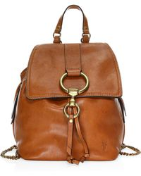 Frye - Ilana Small Leather Backpack - Lyst