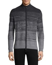 Zachary Prell - Hawkins Knitted Zip Jumper - Lyst