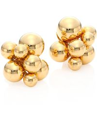 Marina B - Atomo 18k Yellow Gold Sphere Earrings - Lyst