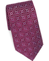 Charvet - Silk Diamond Pattern Tie - Lyst