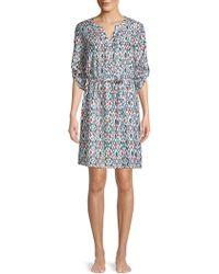 Roberta Roller Rabbit - Richen Violet Print Dress - Lyst
